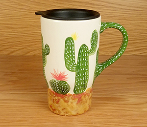 Maple Grove Cactus Travel Mug