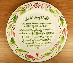 Maple Grove The Giving Plate