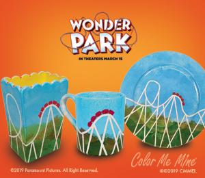 Maple Grove WonderPark Roller Coaster