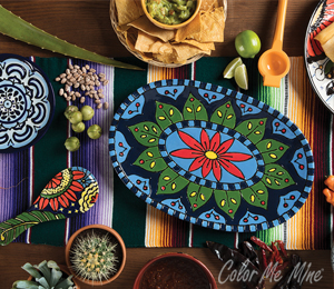 Maple Grove Talavera Tableware