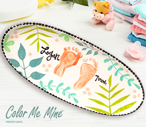 Maple Grove Tropical Baby Tray